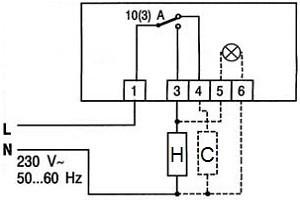 Как подключить комнатный термостат к газовому котлу для отопления схема подключения