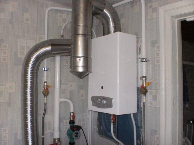 Как установить газовую колонку в квартире своими руками