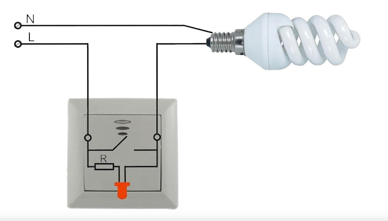 Светодиодная лампа светится при выключенном выключателе — причины и методы устранения