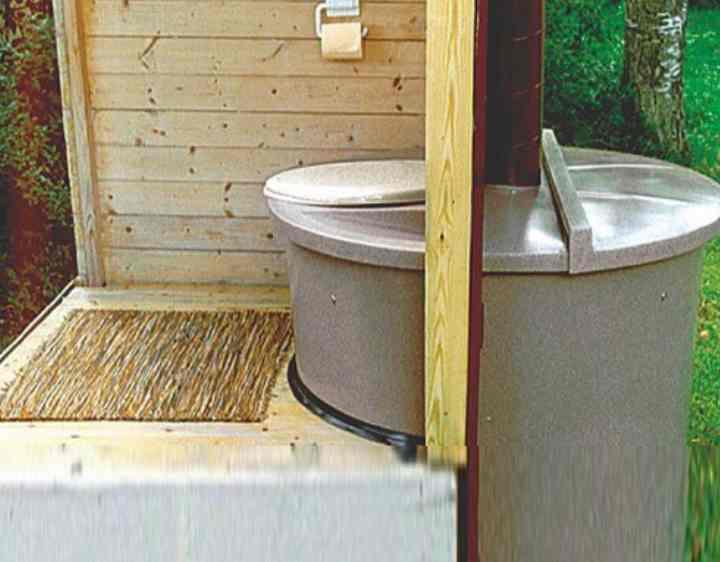 Чертеж дачного туалета — популярные схемы строительства