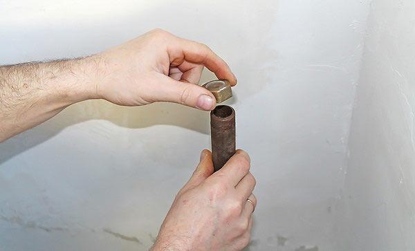Инструмент для нарезки резьбы на водопроводных трубах