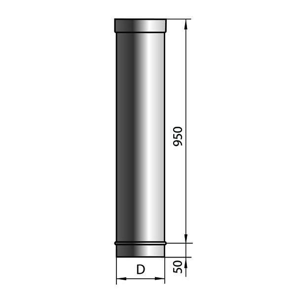 Трубы для дымохода и их разновидности с описанием и характеристикой, а также особенности установки