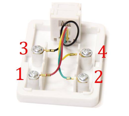 Как подключить телефонную розетку. подключение кабеля