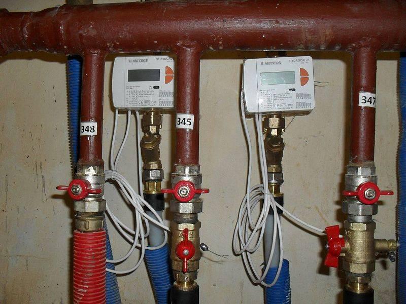Счетчики на батареи отопления в квартире стоимость установки прибора учета