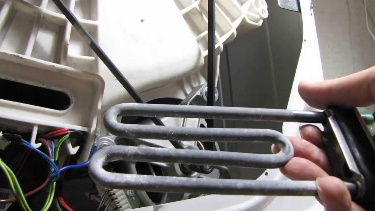 Как самостоятельно заменить нагревательный тэн на стиральной машине. пошагово +фото