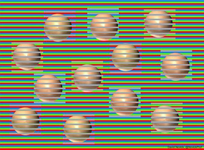 Обман зрения в картинках