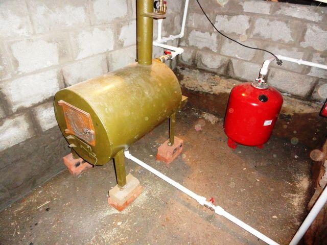 Как лучше организовать отопление гаража — водяной тип и газом