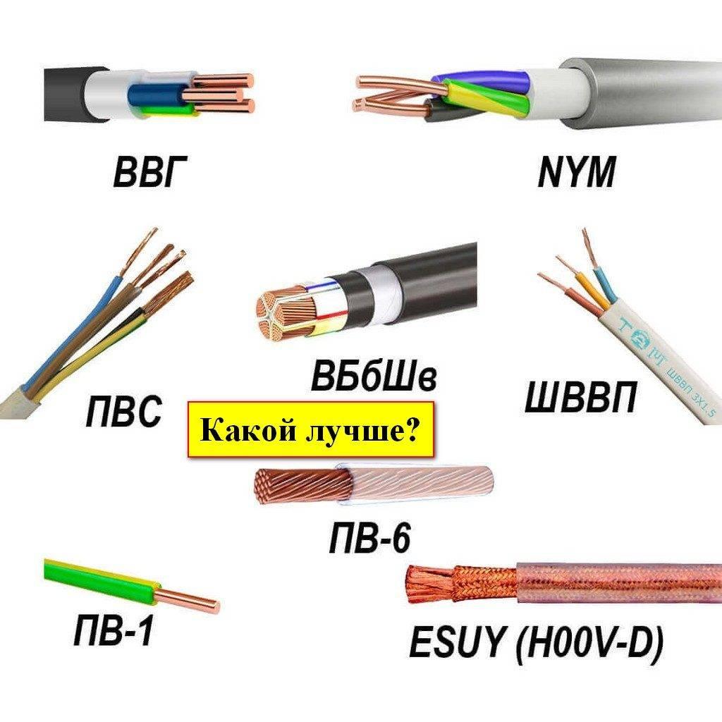 Кабели и провода для проводки в доме: какую продукцию лучше использовать?