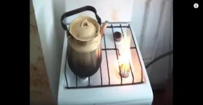 Почему коптит газовая плита от газового баллона