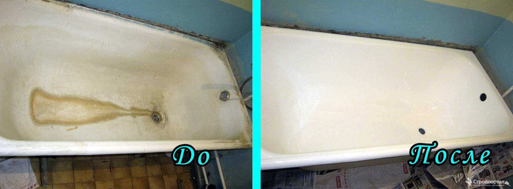 Наливная ванна или акриловый вкладыш - выбираем вид реставрации покрытия