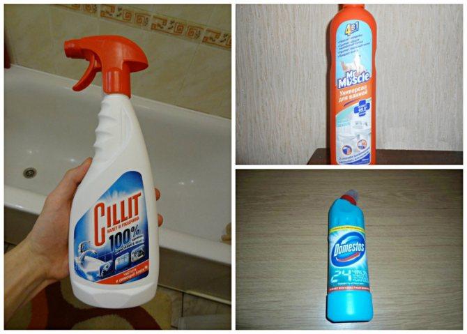 Чем чистить акриловую ванну: народные средства и специальная химия