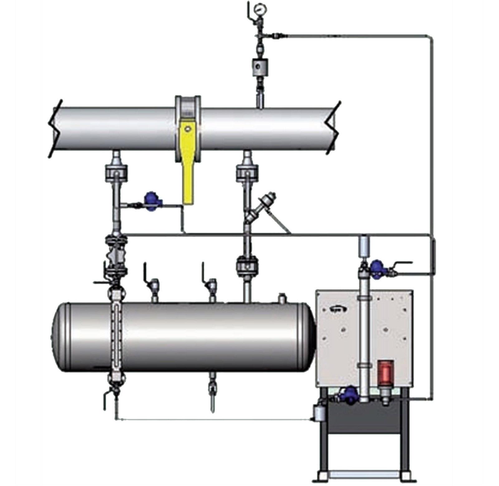 Система автоматической одоризации природного газа