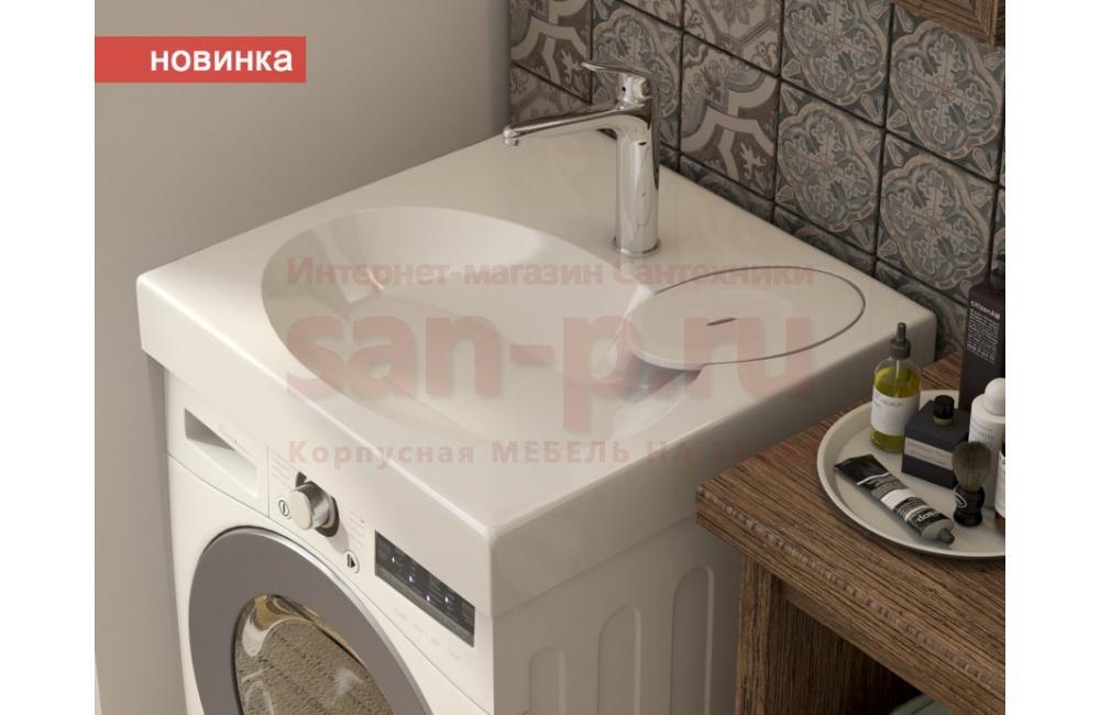 Монтаж раковины над стиральной машиной, фото