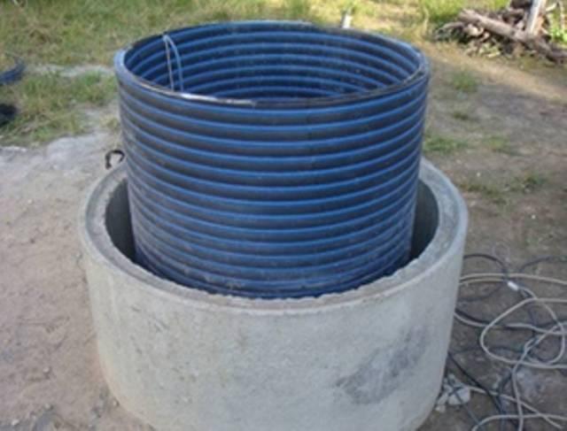 Гидроизоляция септика изнутри из бетонных колец (видео)