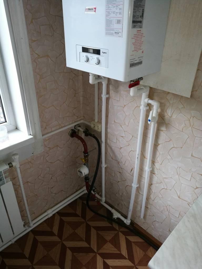 Установка газового котла в квартире многоквартирного дома – оформление
