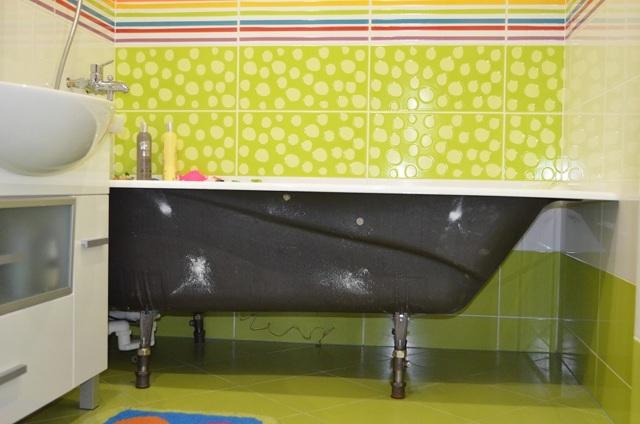 Установка экрана под ванну: как установить экран своими руками под акриловую модель, инструкция по монтажу