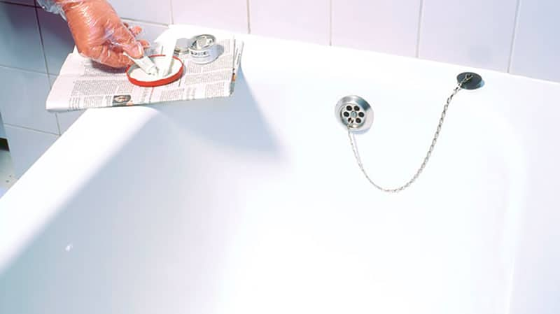 Ремонт чугунной ванны своими руками, как отремонтировать сколы и трещины (фото, видео)