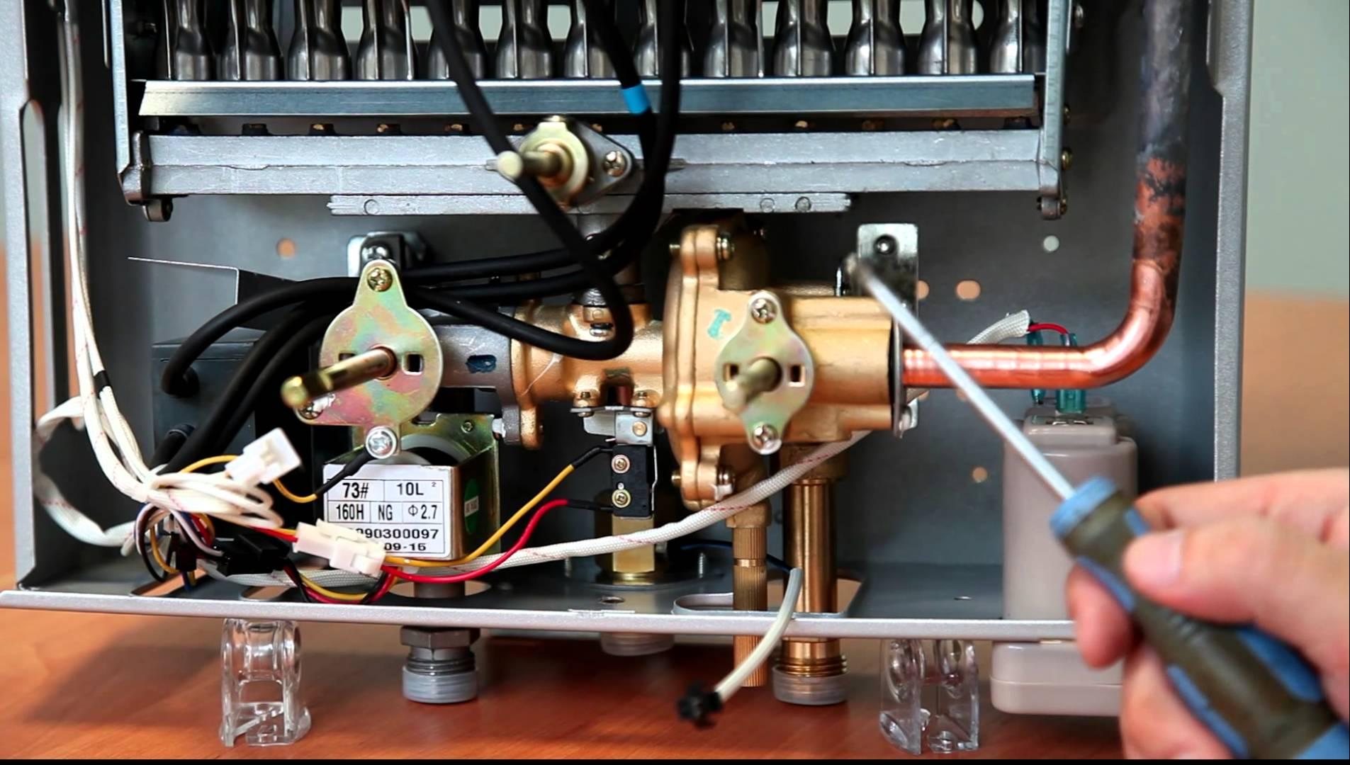 Настройка и ремонт и газовых водонагревателей своими руками: руководство для владельцев водогреек