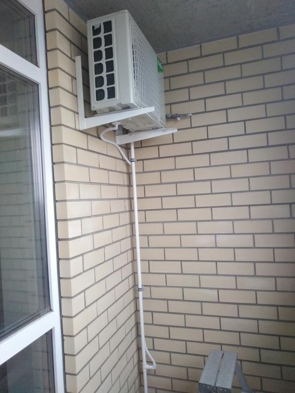 Кондиционер на балконе или лоджии
