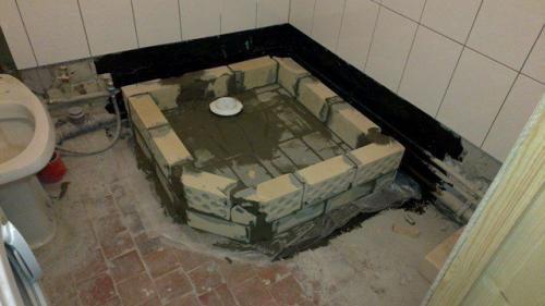Как сделать поддон для душевой кабины своими руками из плитки: фото » интер-ер.ру
