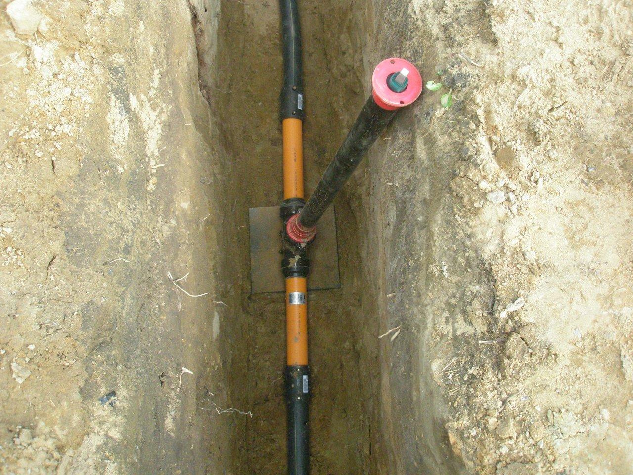 Контрольная трубка газопровода dn50