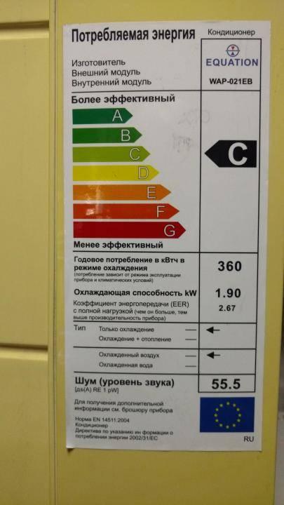 Сколько киловатт электроэнергии потребляет кондиционер в час