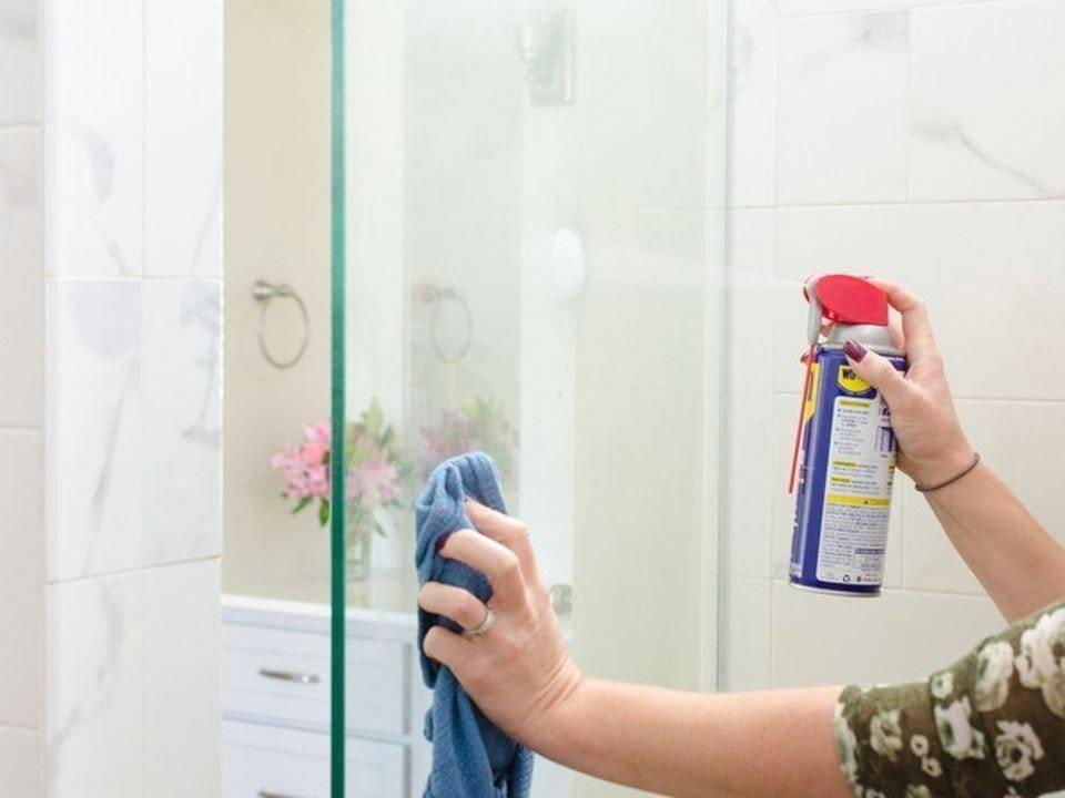 Несколько действенных рекомендаций, чем и как отмыть душевую кабину
