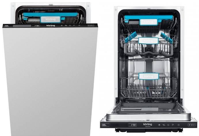Встраиваемые посудомоечные машины korting - обзор