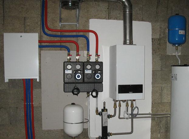 Установка настенного газового котла: монтаж своими руками с соблюдением норм