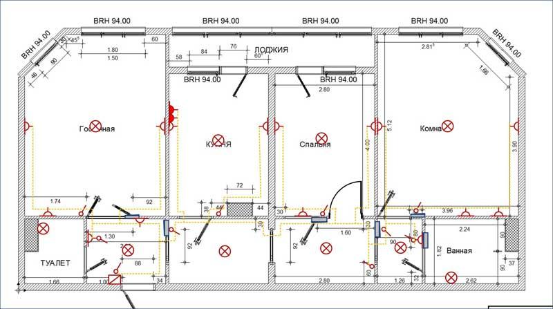 Электрификация деревянного дома