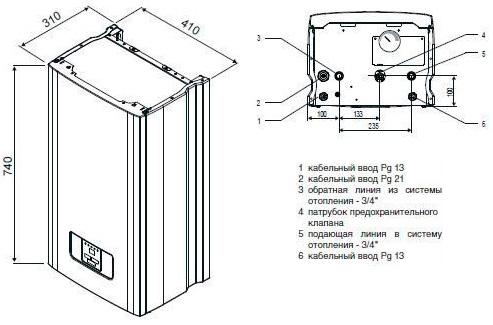 Схема электрического котла protherm - tokzamer.ru