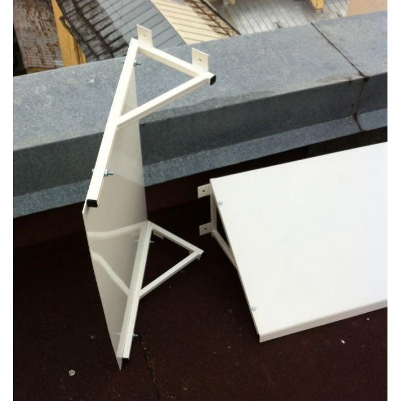 Козырек и навес над крыльцом своими руками: описание конструкций, применяемых материалов и инструкции по изготовлению