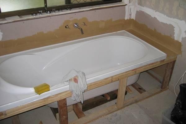 Каркас для ванны: акриловый как собрать, своими руками 170х70, как сделать ножки и сборка рамы, подставка профиля оптимальный каркас для ванны: 3 составные рамы – дизайн интерьера и ремонт квартиры своими руками