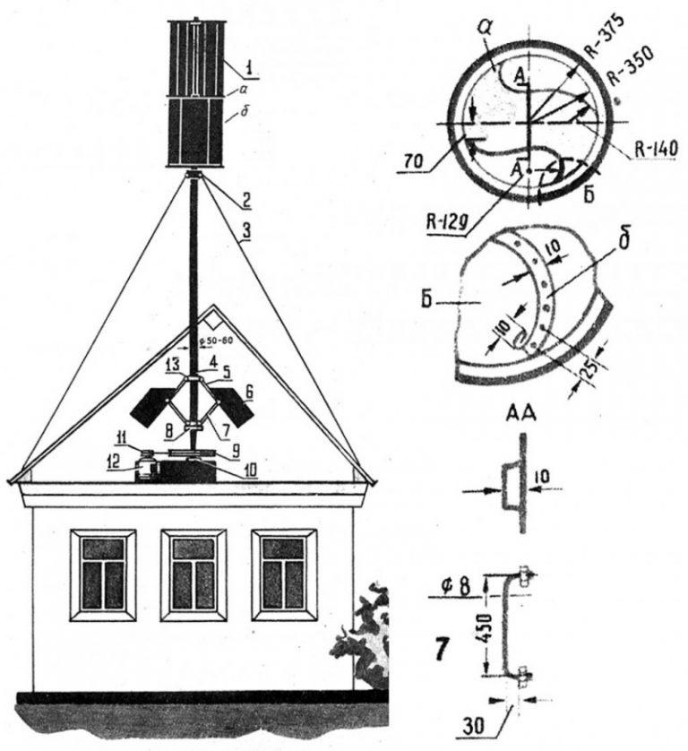 Самодельный ветрогенератор: в библиотеку домашнего мастера