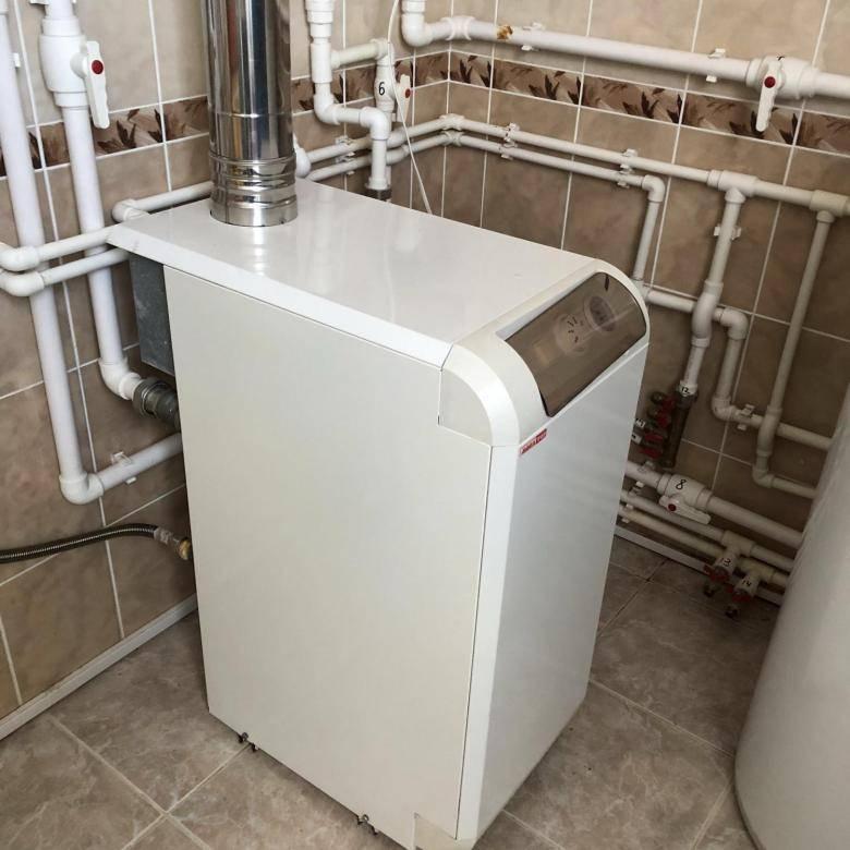 Газовые двухконтурные напольные котлы для отопления дома