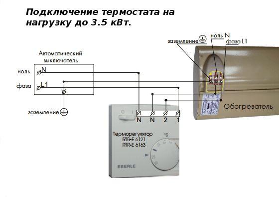 Как подключить терморегулятор к инфракрасному обогревателю: инструкция