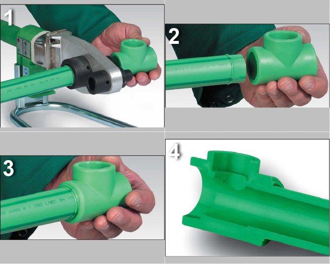 Пайка труб из полипропилена - несколько простых советов для выполнения своими руками