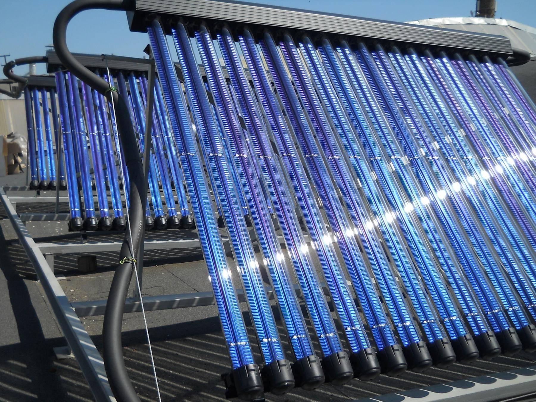 Солнечные коллекторы:  виды, принцип работы, устройство системы