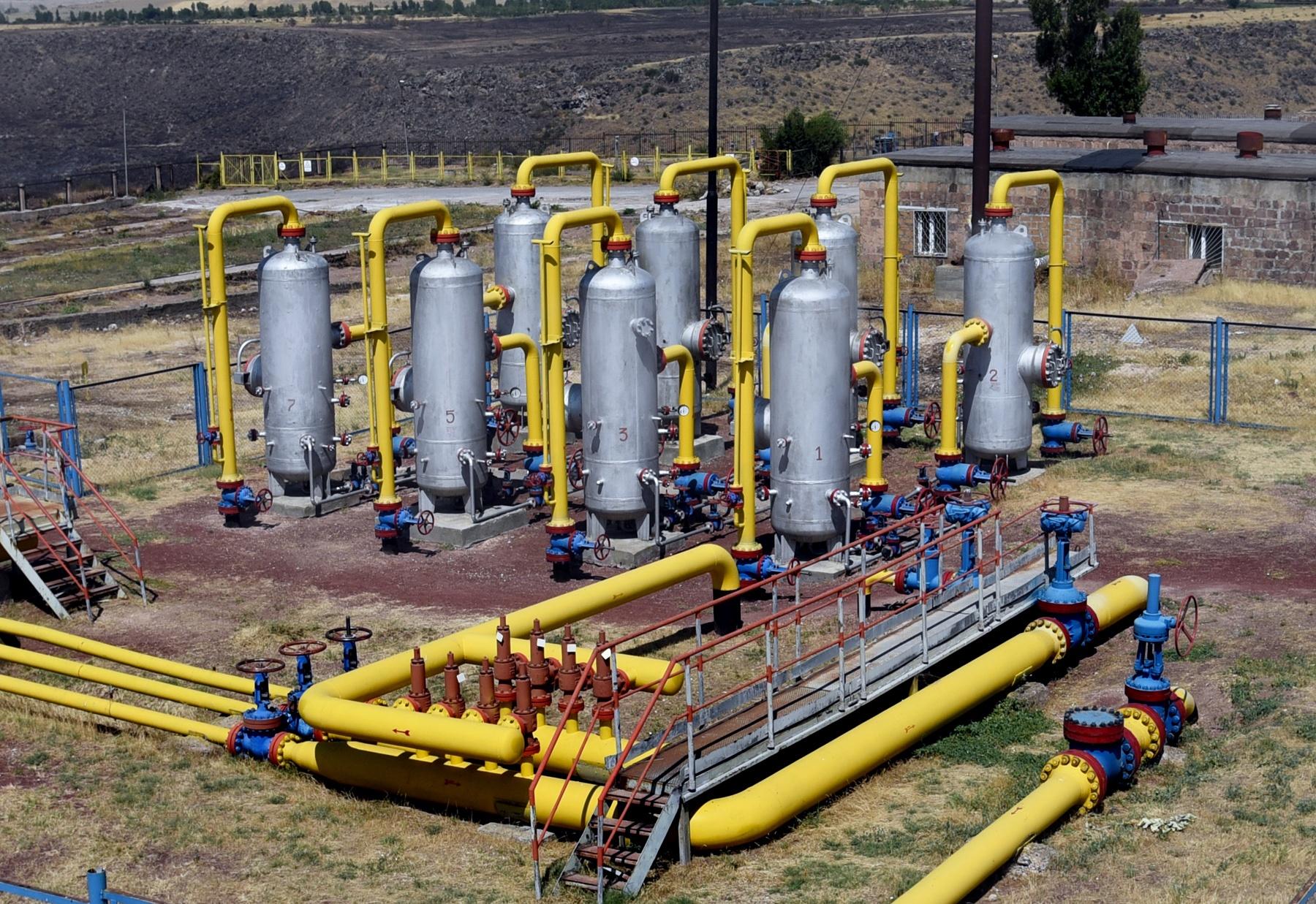 Характеристика подземных хранилищ газа