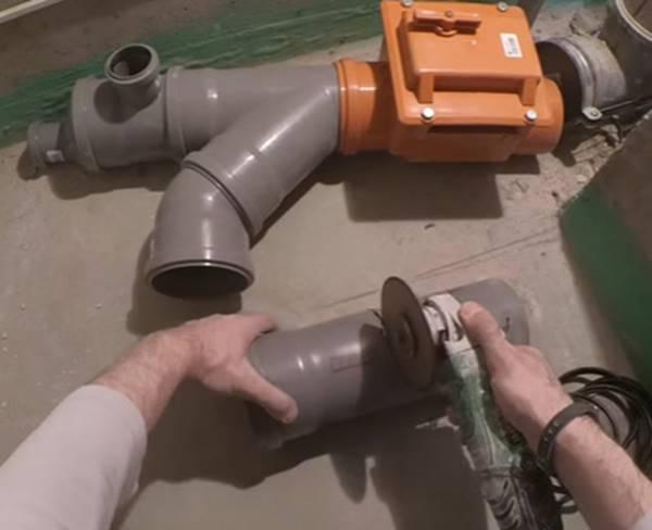 Виды клапанов для канализации