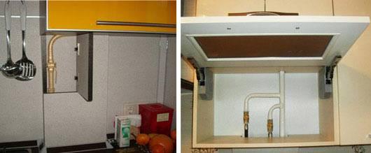 Можно ли газовую трубу спрятать в стену - клуб мастеров
