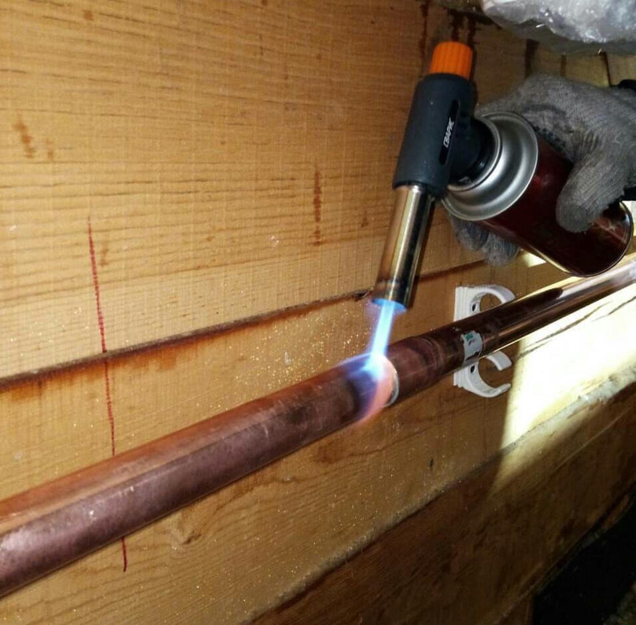 Пайка медных труб: сварка и ремонт своими руками, как паять пропановой горелкой, припой, флюс и паста