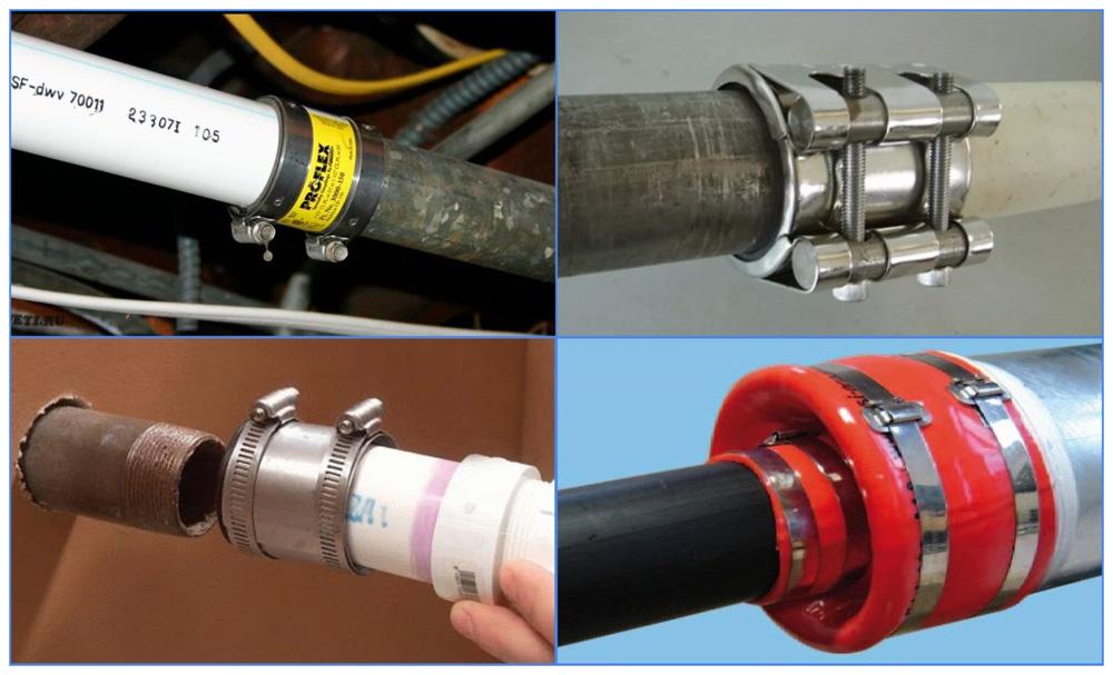 Варианты соединения пластиковых труб с металлическими