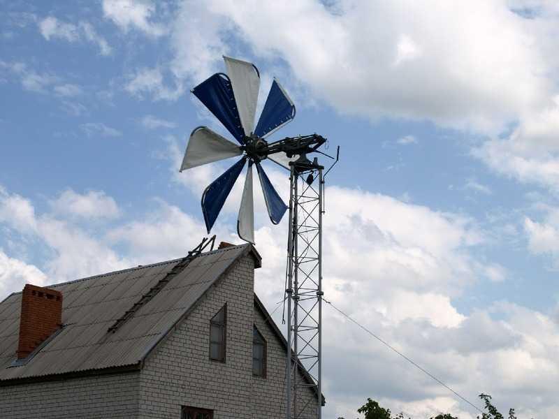 Как сделать вертикальный ветрогенератор своими руками