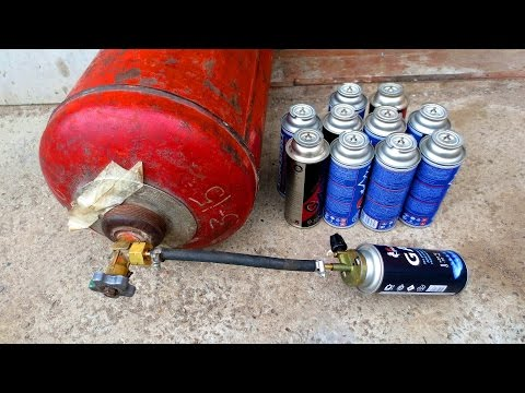 Газовые баллоны для горелок. как выбрать?