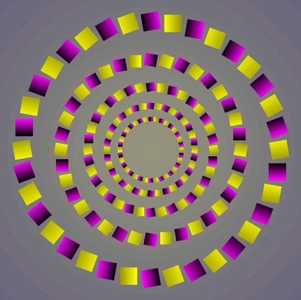 Тест: посмотрите в центр картинки. какой цвет вы видите? :: инфониак