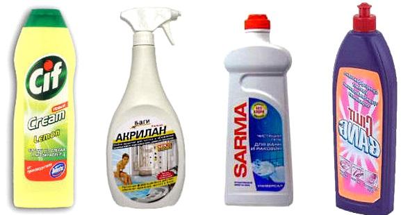 Чем и как мыть акриловую ванну — какое средство использовать