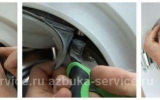 Манжета для стиральной машины: инструктаж по замене своими руками