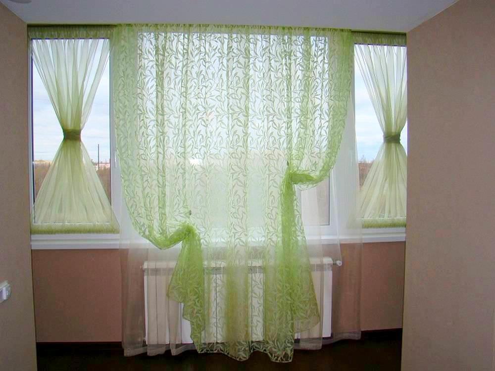 Как повесить шторы без карниза - креативные способы