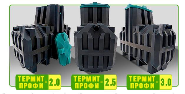 Септик термит-локально очистное сооружение
